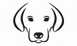 Hund Outline von Binimey