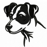 Jack Russell Terrier von emblibrary.com