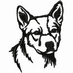 Australian Cattle Dog von emblibrary.com