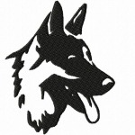 Deutscher Schäferhund von Knit-and-fun
