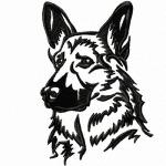 Deutscher Schäferhund von emblibrary.com